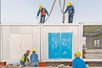 武汉雷神山医院建造进展完结40%