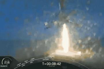 SpaceX成功发射第七批60颗星链卫星总数达422颗